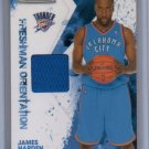 James Harden RC Jersey 2009-10 Rookies & Stars #3 Rookie Thunder Rockets #/299