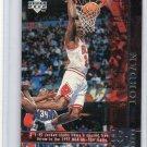 Michael Jordan 1997-98 UD Game Dated Overtime #316 Bulls HOF