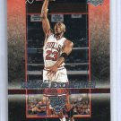 Michael Jordan 2003-04 UD Rookie Exclusives #60 Bulls HOF