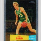 Larry Bird 2007-08 Topps Chrome 1957-58 Style #105 Celtics HOF