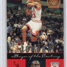 Michael Jordan 1998-99 UD Legends Player of the Century #85 Bulls HOF