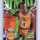 Shaquille O'Neal HOF 1996-97 Skybox Z Force Z-Cling #64 Lakers, Magic, Heat Shaq