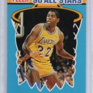 Magic Johnson 1990-91 Fleer Sticker #4 of 12  Lakers HOF