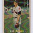 Bob Lemon 1957 Topps  #120  HOF Cleveland Indians