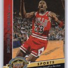 Michael Jordan 2009 Upper Deck 20th Anniversary #39 Bulls HOF MJ
