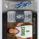 Andrew Bogut RC Auto 2005-06 SP Authentic Autographed Rookie #91 Bucks, Warriors, Cavs