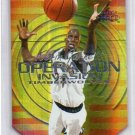 Kevin Garnett 1999-00 Fleer Force Operation Invasion Forcefield #6 Insert Celtics Timberwolves