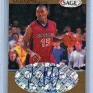 Ron Artest RC Auto #/145 1999 Sage Gold Autographs #A1 Lakers, Bulls Rookie