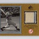 Yogi Berra HOF 2001 SP Legendary Cuts Game Uniform #J-YB Yankees Authentic Game/Used