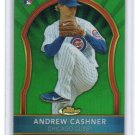Andrew Cashner RC 2011 Finest Green Refractor Rookie #87 Cubs, Padres Rangers #/199