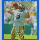 Drew Brees 2007 Topps Chrome Blue Refractor #TC-116 Saints, Chargers