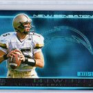 Drew Brees RC 2001 Pacific Invincible New Sensations #24 Saints, Chargers Rookie  #/1250