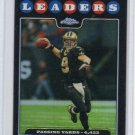 Drew Brees 2008 Topps Chrome Refractor #TC-122 Saints, Chargers