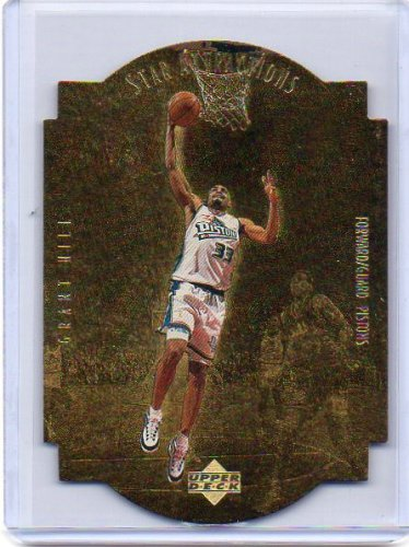 Grant Hill 1997-98 Collector's Choice Star Attractions Gold #SA17 Pistons