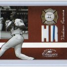 Vladimir Guerrero #/44 Jersey 2005 Donruss Classics Home Run Heroes Relics #HR-27 Expos