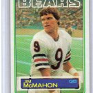 Jim McMahon RC 1983 Topps #33 Chicago Bears Rookie