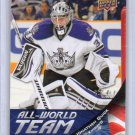 Jonathan Quick 2011-12 Upper Deck All-World Team #AW16 Kings