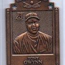 Tony Gwynn Bronze 1997 Pinnacle Xpress Metal Works Die-Cut #11 Padres