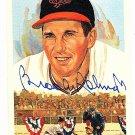 Brooks Robinson Signed Autographed 1989 Perez-Steele Celebration Postcard #35 Orioles HOF