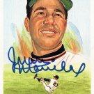 Juan Marichal Signed Autographed 1989 Perez-Steele Celebration Postcard #29 Giants HOF