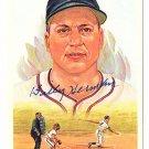 Billy Herman Signed Autographed 1989 Perez-Steele Celebration Postcard #17 Cubs Dodgers HOF