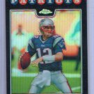 Tom Brady Refractor 2008 Topps Chrome Refractor #TC3 Patriots