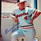 EARL WEAVER HOF Signed Autographed 8x10 Photo Baltimore Orioles COA