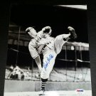 Bob Feller HOF Signed Autographed 8x10 photo  PSA/DNA  Indians Bullet Bob