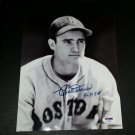 BOBBY DOERR HOF Signed Autographed 8x10 B&W Photograph  Red Sox PSA/DNA