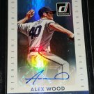 Alex Wood Auto 2015 Donruss Signature Series #36 Autograph Dodgers Braves