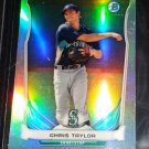 CHRIS TAYLOR RC 2015 Bowman Mini Chrome Refractor #BM-SM5 Dodgers