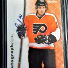 BRAYDEN SCHENN Auto 2012-13 Skybox Autographics #96-SC BLUES, Kings, Flyers