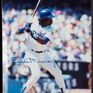 "Eddie Murray HOF Signed Autographed 8x10"" Color Photograph Photo Los Angeles Dodgers"