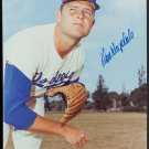 "Don Drysdale HOF Signed Autographed 8x10"" Color Photograph Photo Los Angeles Dodgers"