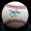 RANDY JOHNSON HOF Signed Autographed Official AL Baseball (Budig) Mariners, Yankees