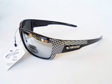 XLOOP Mirror Men's Sunglasses and Shades For Daily and Travel Use Sporty Glasses