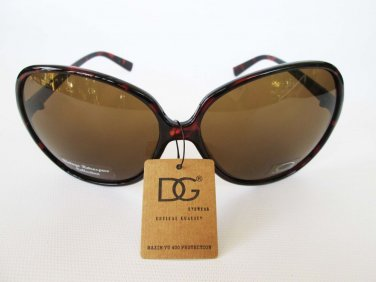 Big Lens Oversized Women Sunglasses With Brown or Purple Lens and Frames