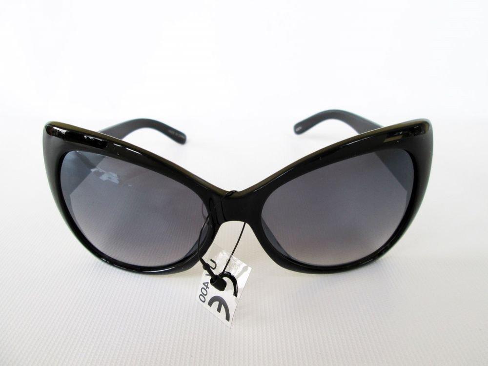 Good Black Butterfly & Cat Eye Women's Sunglasses With Black Gradient Lens