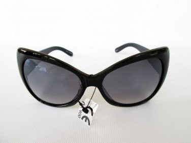 Good Black Butterfly & Cat Eye Women's Sunglasses With Black Gradient Lens
