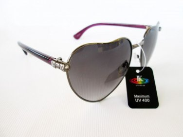Brand New High Fashion Light Black Women Sunglasses With Rhinestones For Ladies