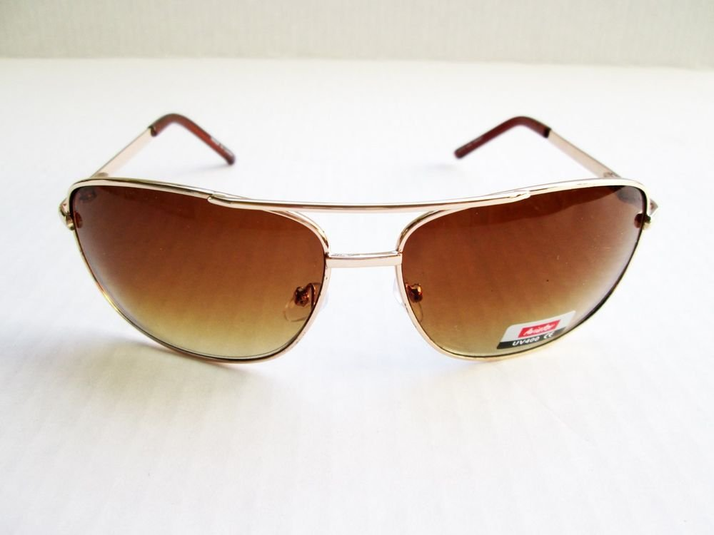 Good New Men's Aviator Sunglasses and Shades for Everyday or Travel Use