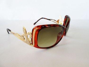 Cheap But Good High Fashion Women's Sunglasses With Metal Frames & Rhinestones