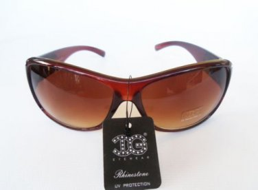 Newest Black & Brown Sunglasses & Shades with Rhinestones for High Fashion Women
