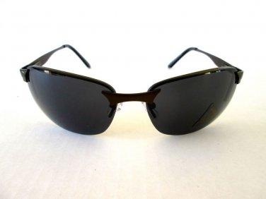 Popular Style Brand New Sturdy Men's Black Aviator Sunglasses with Metal Frames.