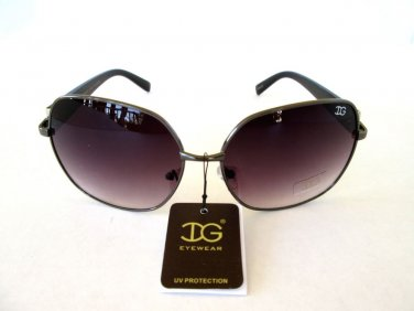 Popular Style Brand New Round or Oval Women's Smoke Black Sunglasses & Shades