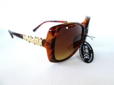 Latest Style High Fashion Women Sunglasses With Black, Brown or Tortoise Frames