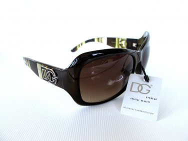 Good New High Fashion Oval Women's Sunglasses & Shades With Smoke or Dark Lens