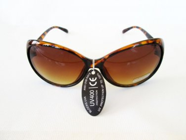 Good Designer's Style Oval Black and Brown Women's Sunglasses and Eyewear