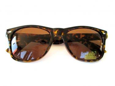 Popular Style Brand New Unisex Aviator Sunglasses With Tortoise Brown Lens