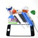 Front Glass Screen+Repair Tools Glue Set for APPLE Iphone 5 5S 5C~Black 03690-MATSiP5nnnB-TG